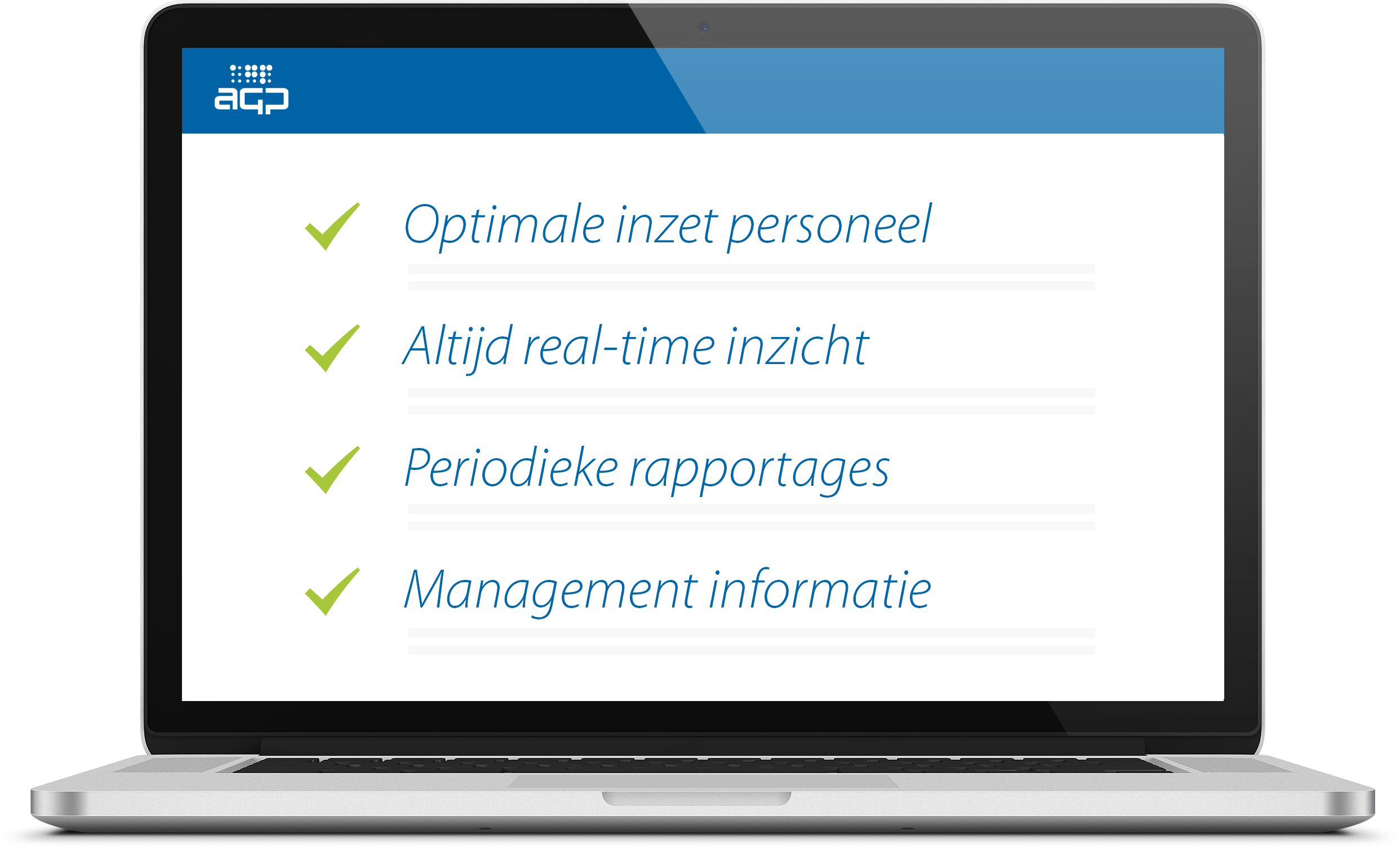 AGP Projects softwarepakket voor projecten