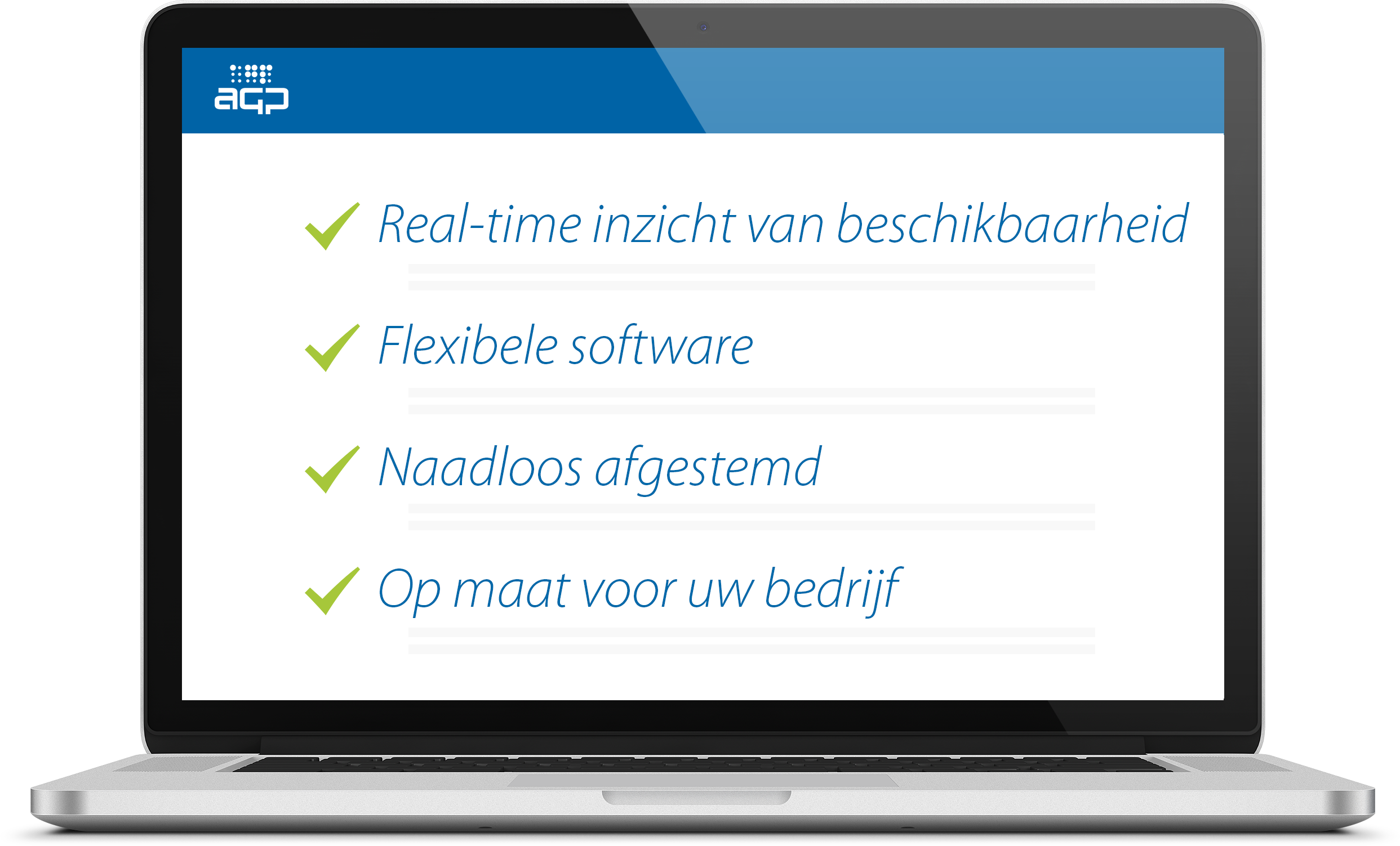 AGP Veghel Rent software